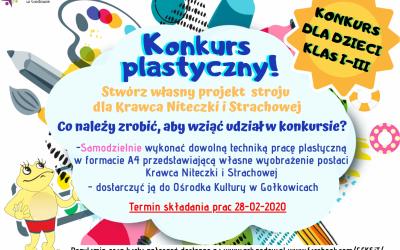 Konkurs plastyczny dla dzieci klas I-III